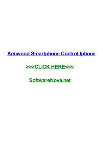 Kenwood smartphone control iphone