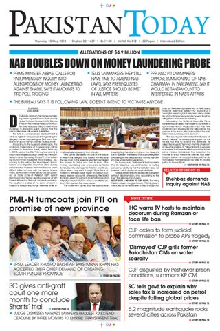 E paper pdf 10 may (isb) by Pakistan Today - issuu