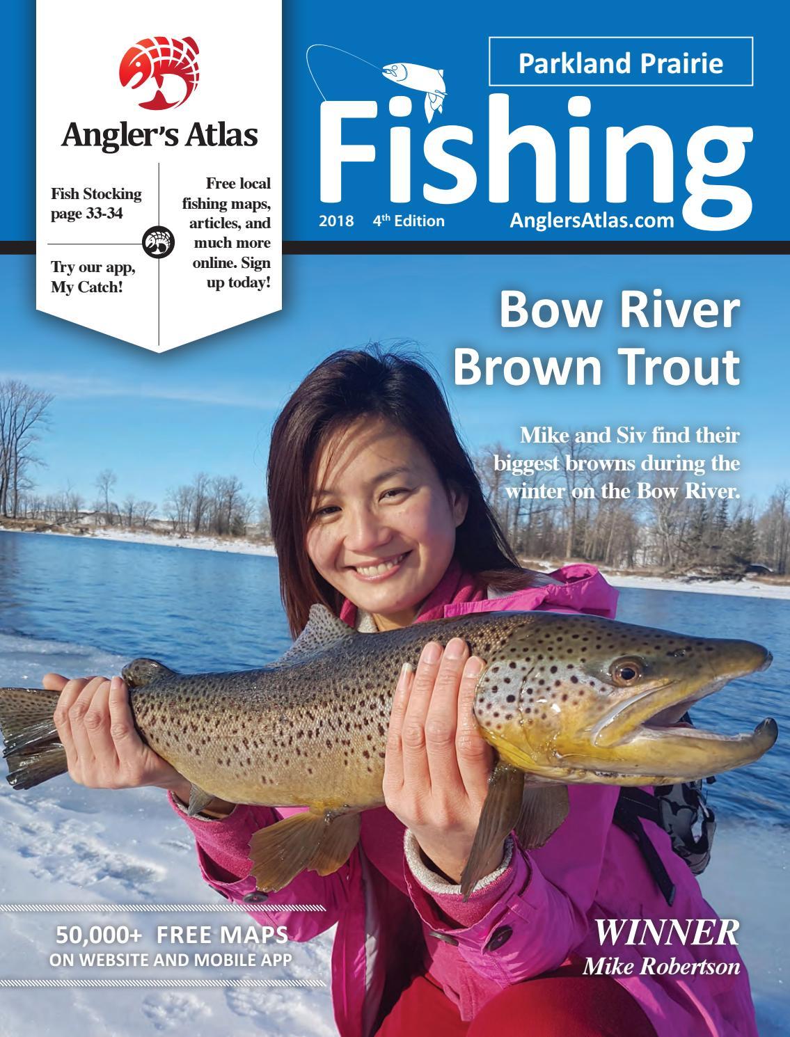 Parkland Prairie Alberta Fishing 2018 by Angler\'s Atlas - issuu