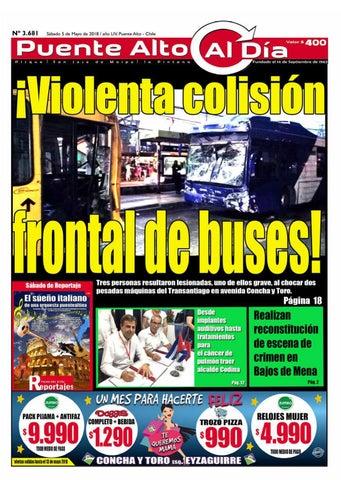 Edición N° 3.681 - 5 de Mayo de 2018 by Puente Alto Al Día - issuu 6a7bb7084c9e
