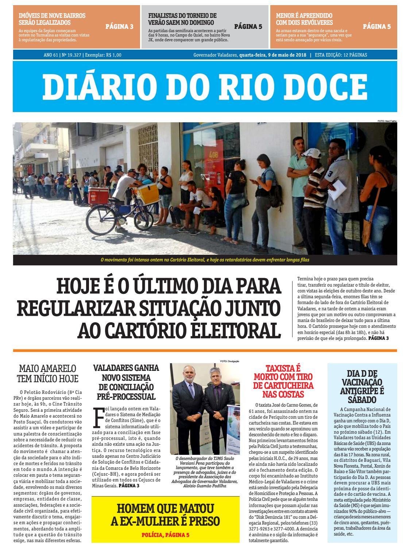 Diário do Rio Doce - Edição de 09 05 2018 by Diário do Rio Doce - issuu bebf483fa9