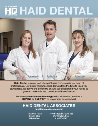 2018 Top Dentists by The Columbus Dispatch - issuu