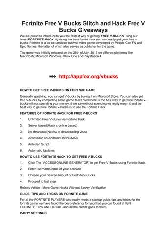 Fortnite hack by fortnitehack - issuu