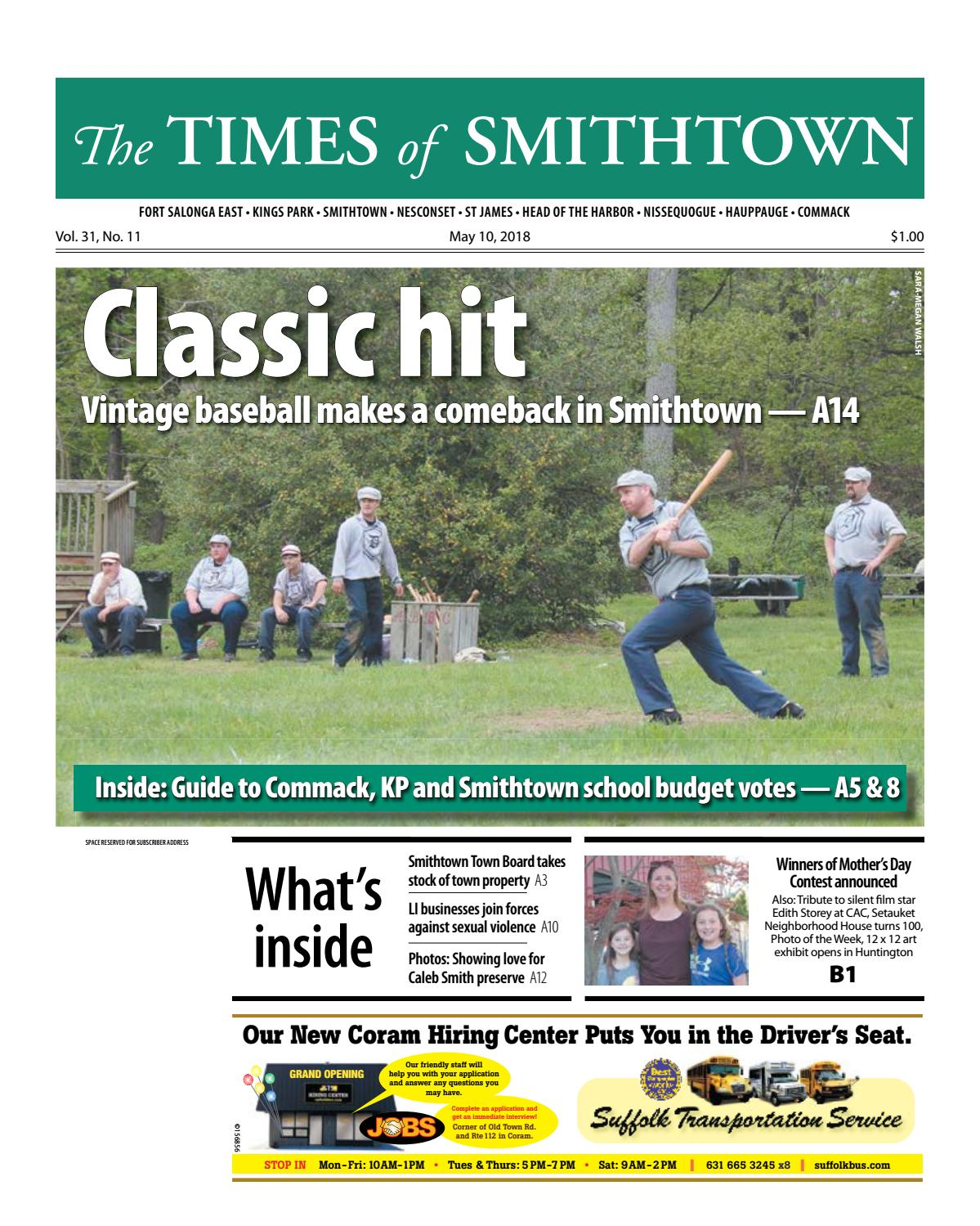 The Times of Smithtown - May 10, 2018 by TBR News Media - issuu