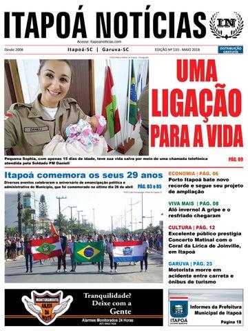 5c89326570a9 Itapoá Notícias - edição 133 - maio de 2018 by Itapoá Notícias - issuu