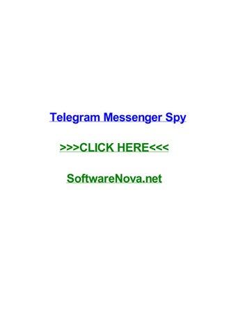Telegram messenger spy by kimberlywntvr - issuu