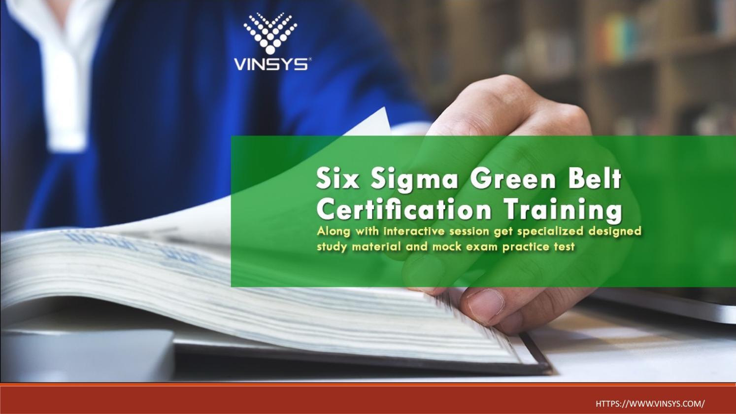 Six Sigma Green Belt Certification Pune Six Sigma Training In Pune