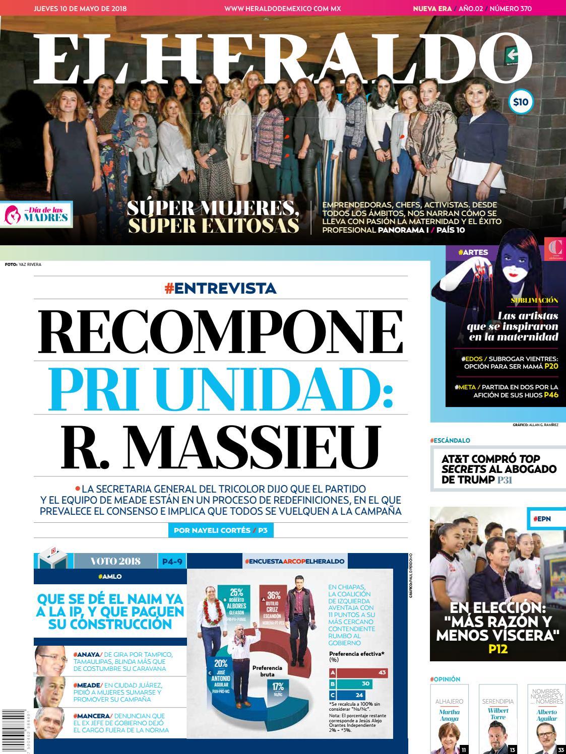 7bd20eb0bc0 Heraldo 10 de mayo by El Heraldo de México - issuu