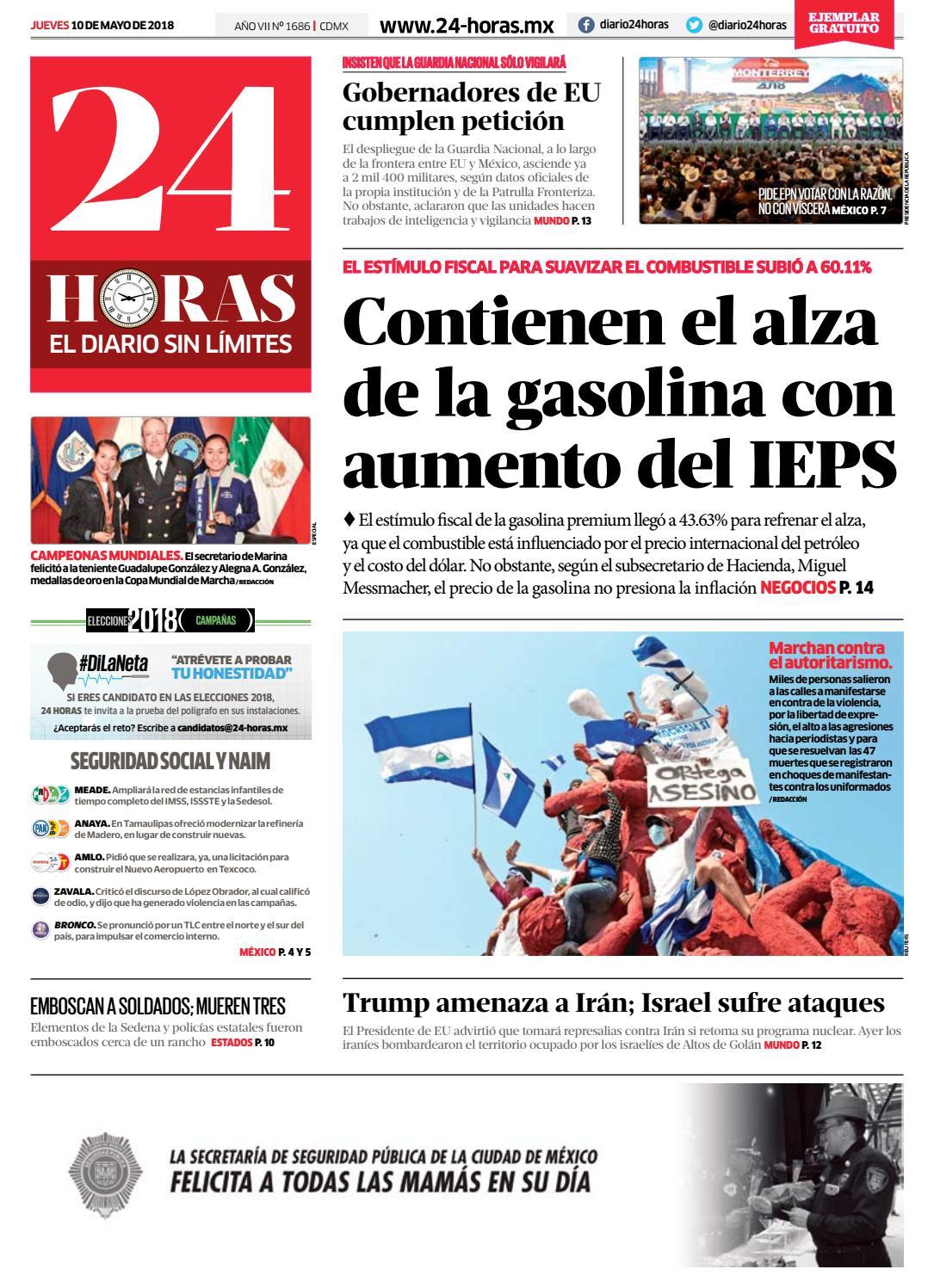 DIARIO 24 HORAS by Información Integral 24/7 SAPI de C.V. - issuu