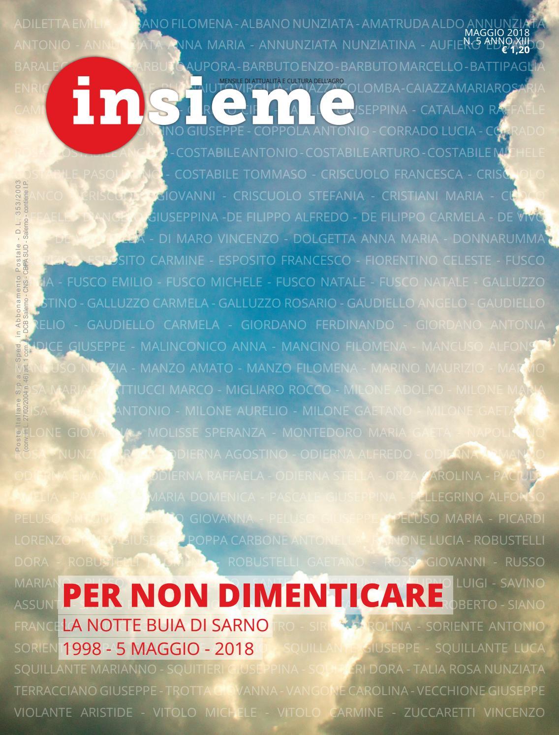 Cucina Della Mamma Nocera Inferiore insieme - maggio 2018 by diocesi nocera inferiore-sarno - issuu