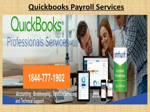 Quickbooks Payroll Support Services Number 1844-777-1902 by