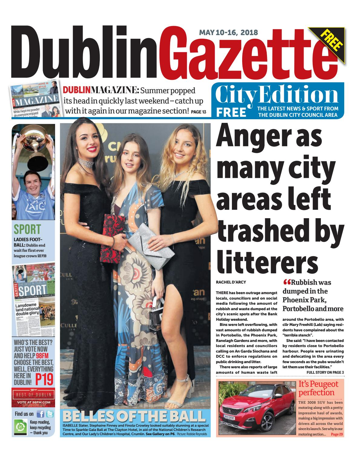 Dublin Gazette City Edition By Issuu Catriona Keily Top Handle Bag Brown