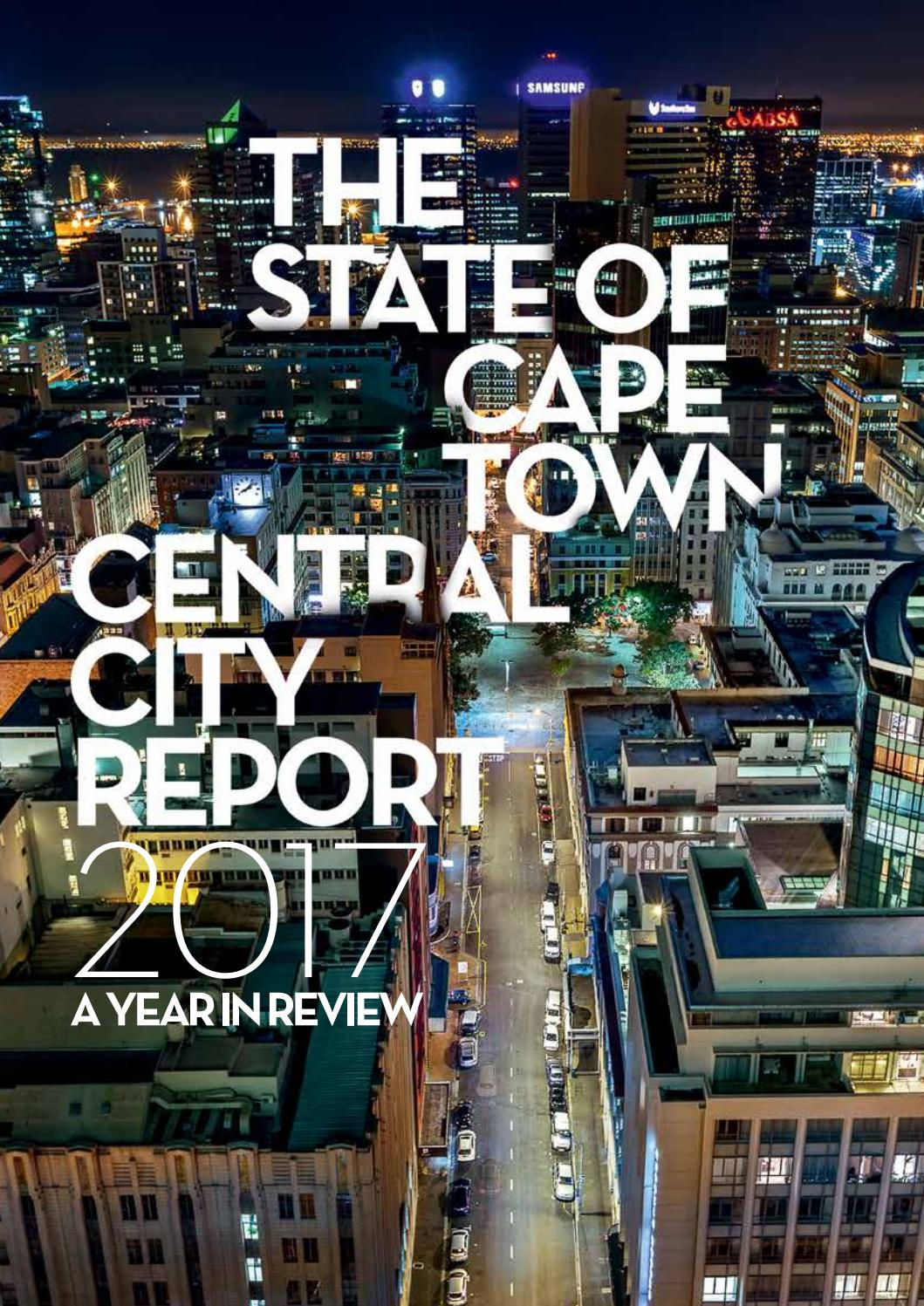 The State of Cape Town Central City Report 2017 by Cape Town