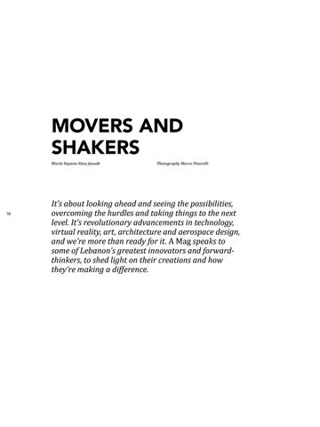 Page 60 of Movers and Shakers