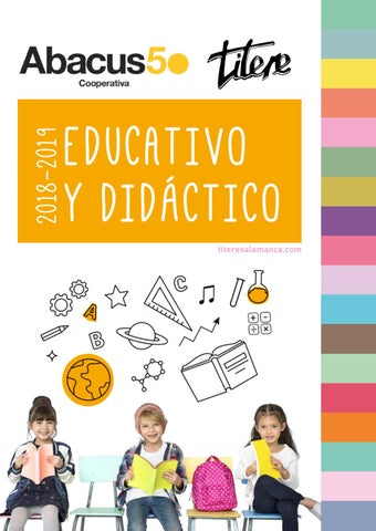 Catálogo Títere-Abacus Educativo 2018 by Abacus cooperativa - issuu