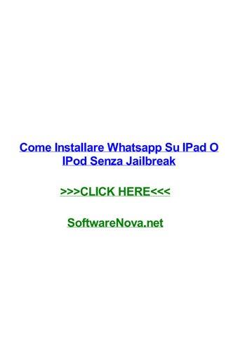 app gratis su ipad senza jailbreak