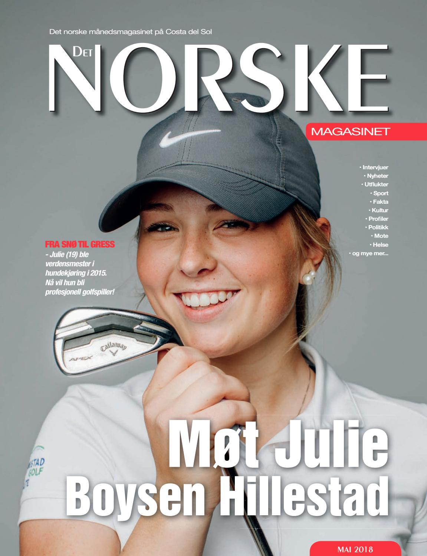 4866fcce Det Norske Magasinet Mai 2018 by Norrbom Marketing - issuu