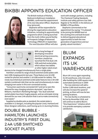 Page 14 of BiKBBI news, plus industry news supplied by kbbdaily.com