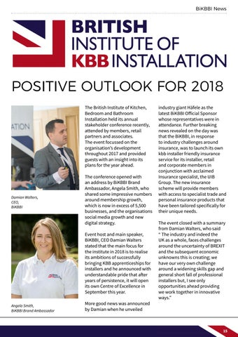 Page 15 of BiKBBI news, plus industry news supplied by kbbdaily.com