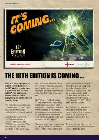Page 24 of The 18th Edition is coming ...