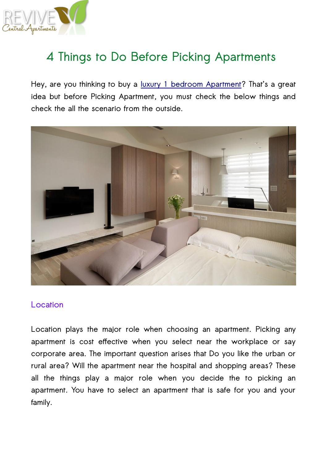 How to check the apartment before buying