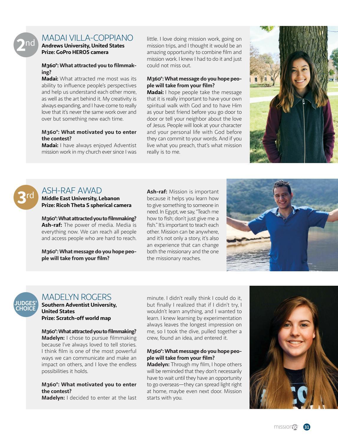 Mission 360˚ Magazine - May 2018 by Adventist Mission - issuu
