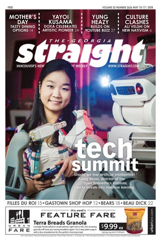 The Georgia Straight Tech Summit May 10 2018 By The Georgia