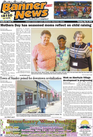 Banner-News 5-10-18 by Community First Media - issuu
