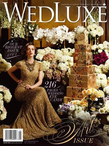 23da6602669 WedLuxe Magazine Winter Spring 2014 Toronto