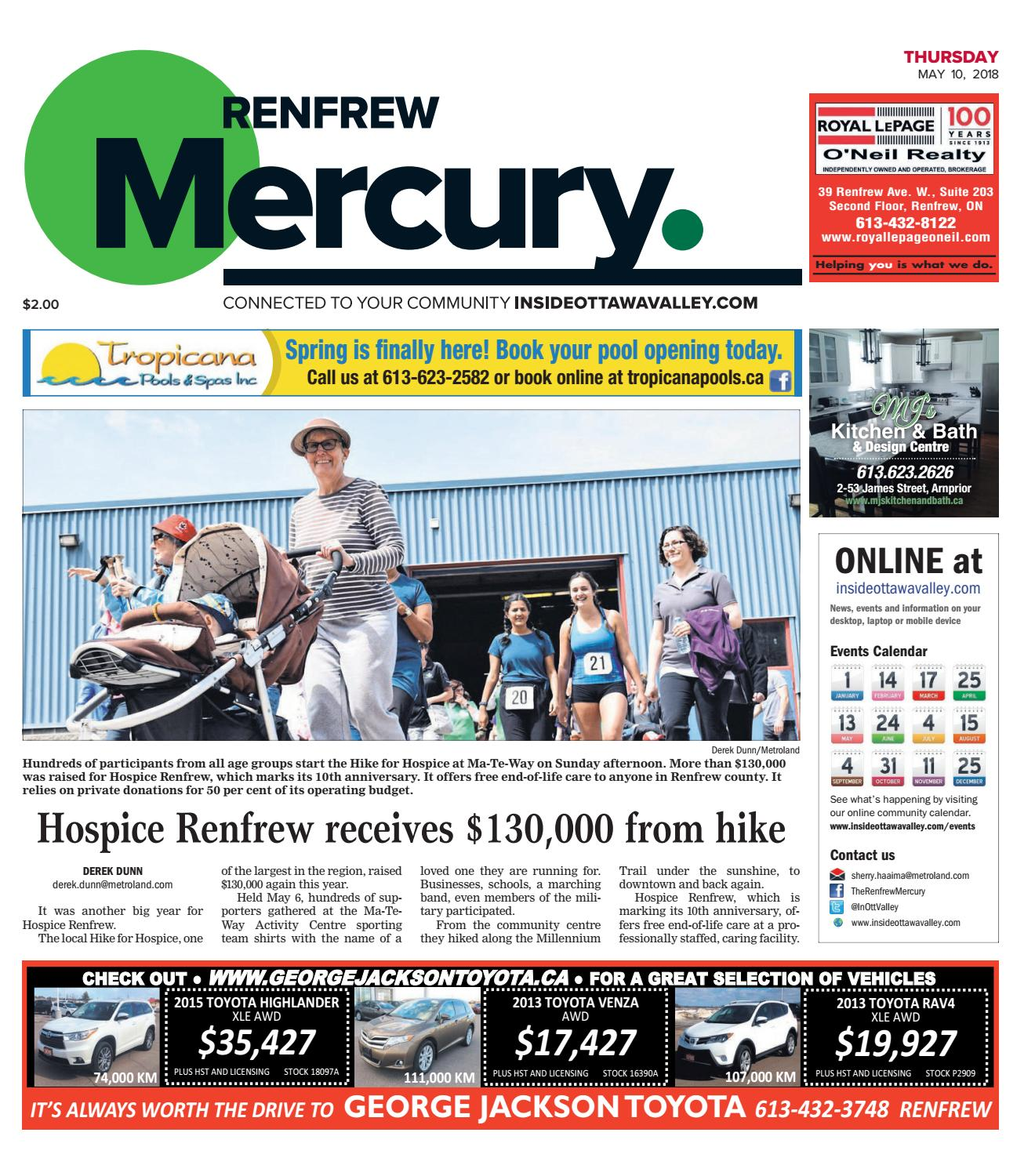 Rnf A 20180510 By Metroland East Renfrew Mercury Issuu Over 77 Lbs Scrap High Grade Circuit Boards For Gold Recovery