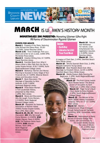 March-April 2018 BCL News by Broward County Library - issuu