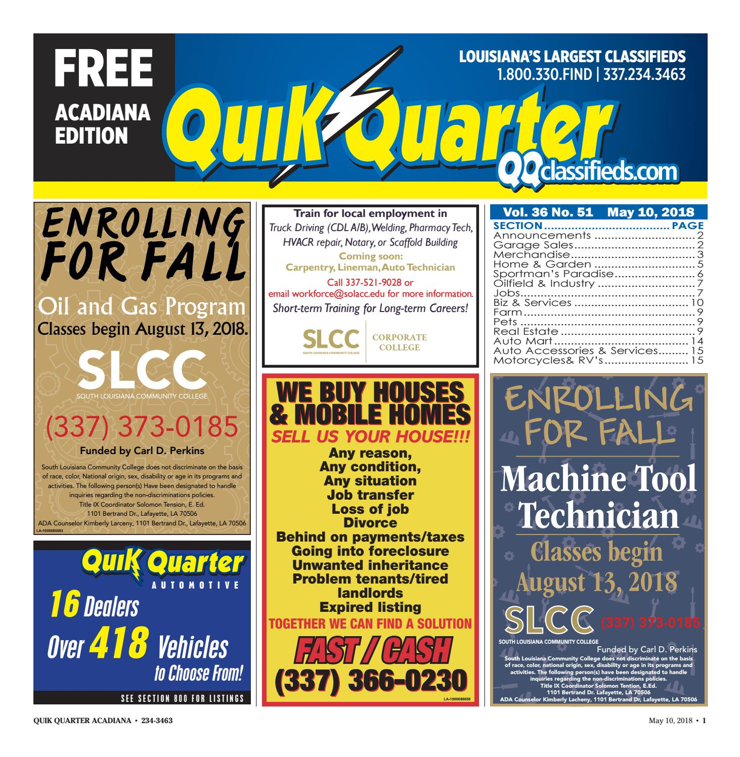 Qqacadiana 05102018 By Part Of The Usa Today Network Issuu 2008 Impala Rear Defroster Wiring Diagram Free Picture