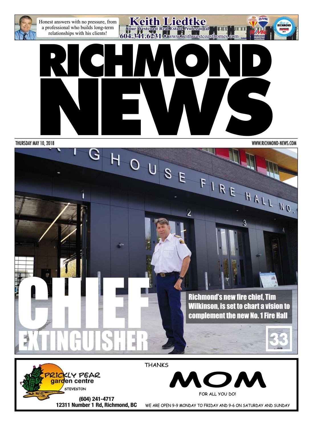 Richmond News May 10 2018 by Richmond News - issuu
