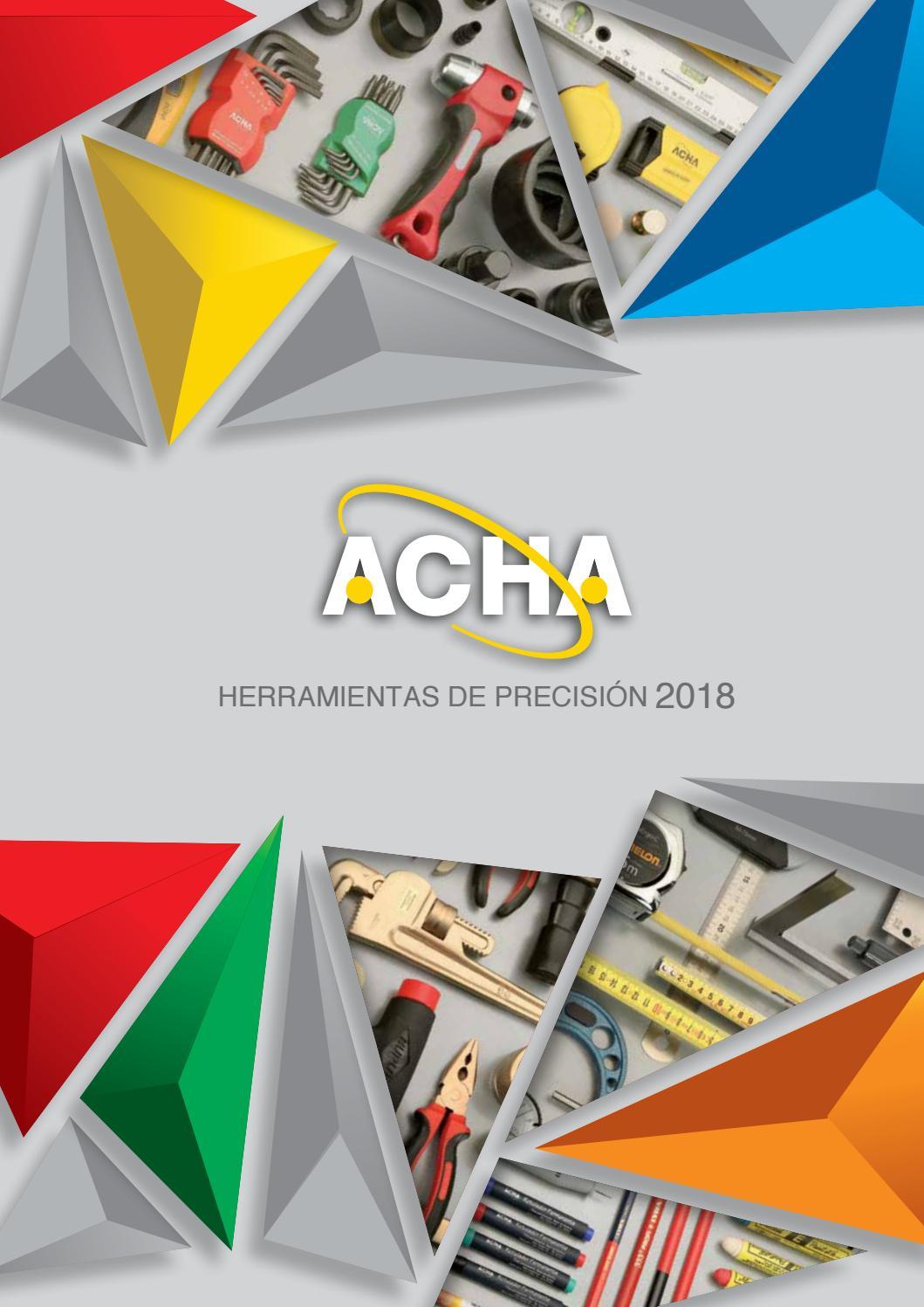 Acha catalogo 2018 by ACHA Herramientas - issuu