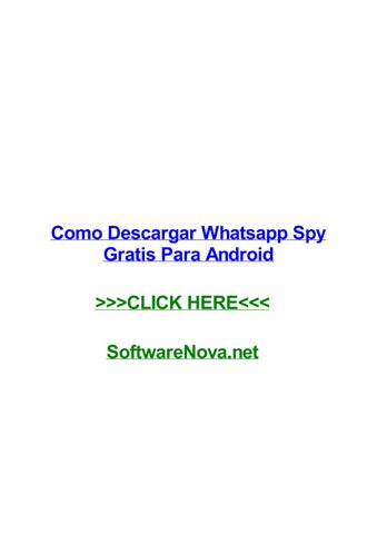 descargar whatsapp spy para iphone