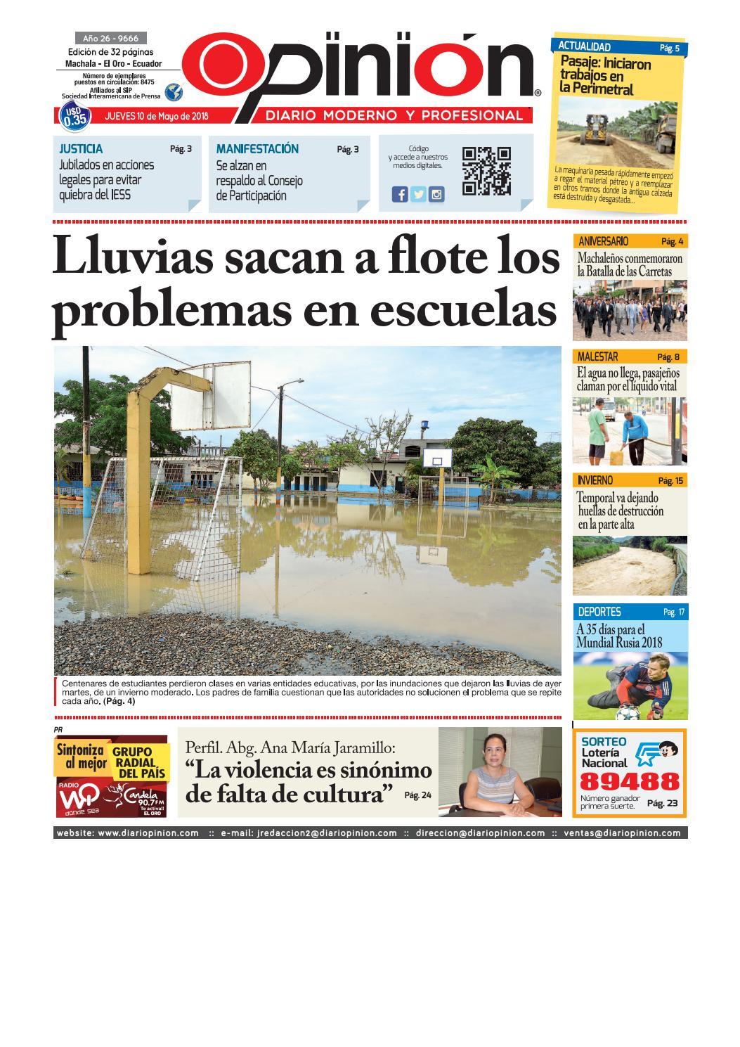 Impreso 10 05 18 by Diario Opinion - issuu 94e2b42bee1