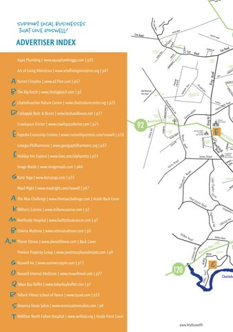 Roswell Ga Zip Code Map.Roswell Magazine May June 2018 By Local Life Publishing Issuu