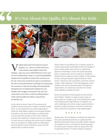 Page 6 of It's Not about the Quilts; It's about the Kids