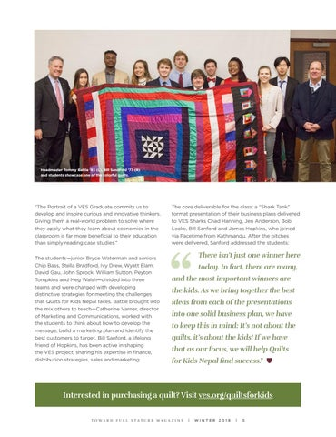 Page 7 of It's Not about the Quilts; It's about the Kids
