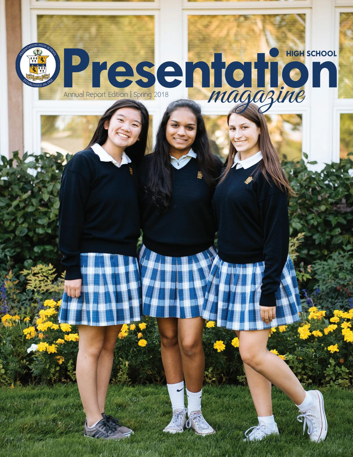 Presentation High School Magazine - Spring 2018 by Presentation High School  - issuu