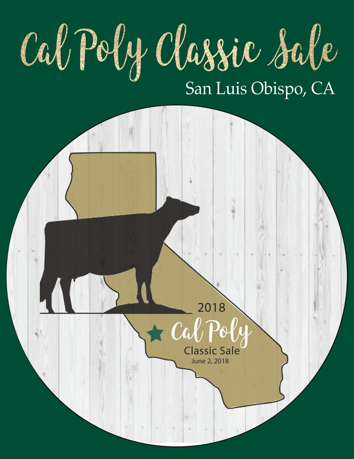 Cal Poly Classic Sale 2018 By Cowsmopolitan Dairy Magazine Issuu Ceres 225 Gr