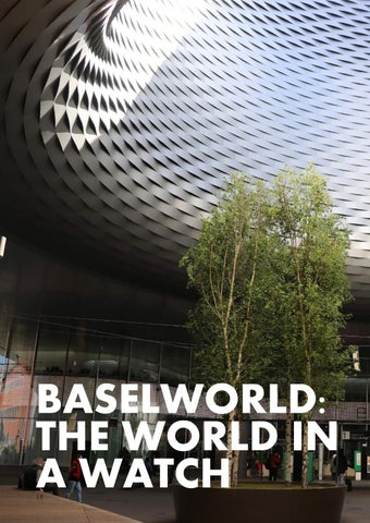 Page 18 of Baselworld: The World in a Watch