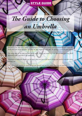 Page 52 of The Guide to Choosing an Umbrella