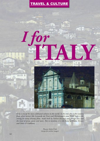 Page 62 of I for Italy