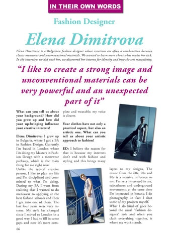 Page 66 of In Her Own Words: Elena Dimitrova