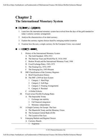Moffett manual array fundamentals of multinational finance 5th edition moffett solutions rh issuu com fandeluxe Gallery