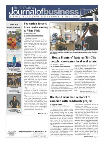 Tri Cities Area Journal Of Business May 2018 By Tri Cities Area