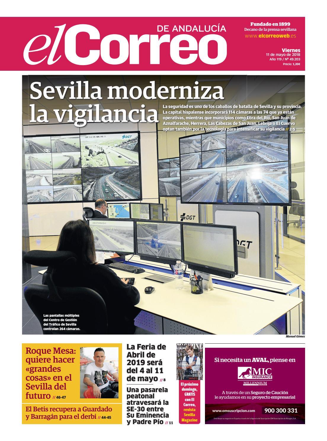 11.05.2018 El Correo de Andalucía by EL CORREO DE ANDALUCÍA S.L. - issuu