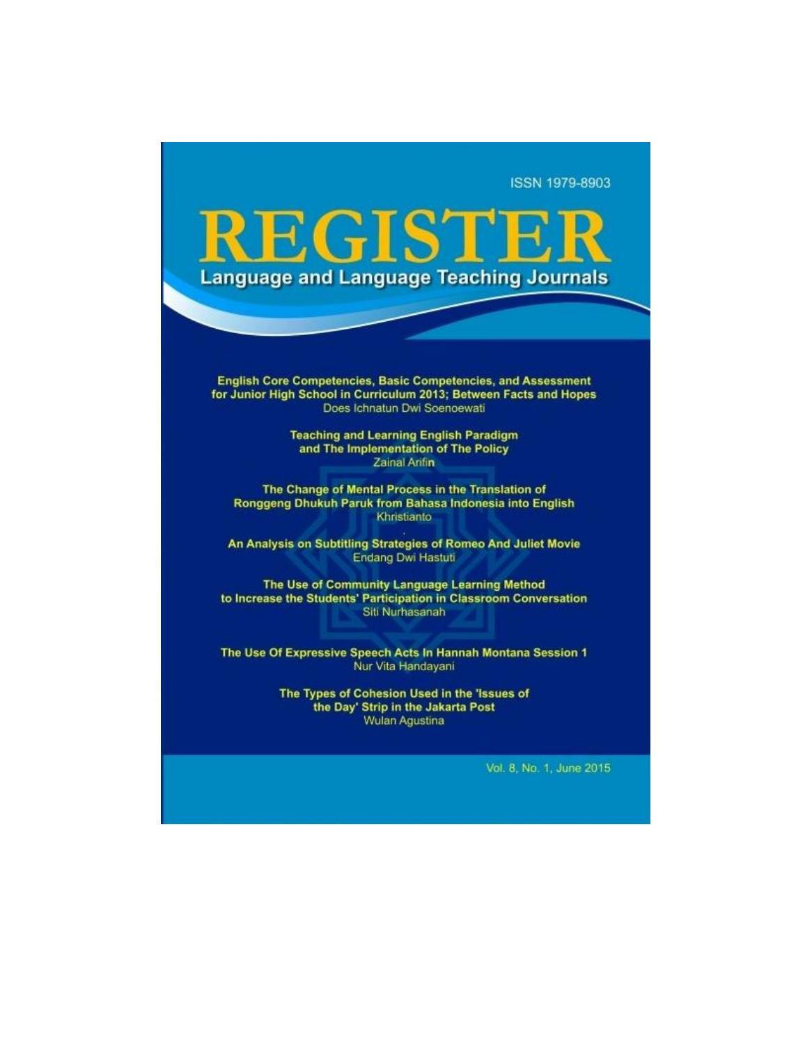 register journal salatiga vol no by fayshol risd issuu