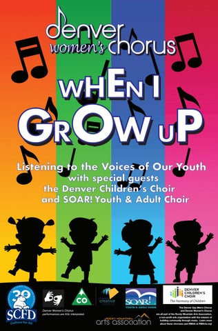 Denver Womens' Chorus | When I Grow Up: Listening to the Voices of
